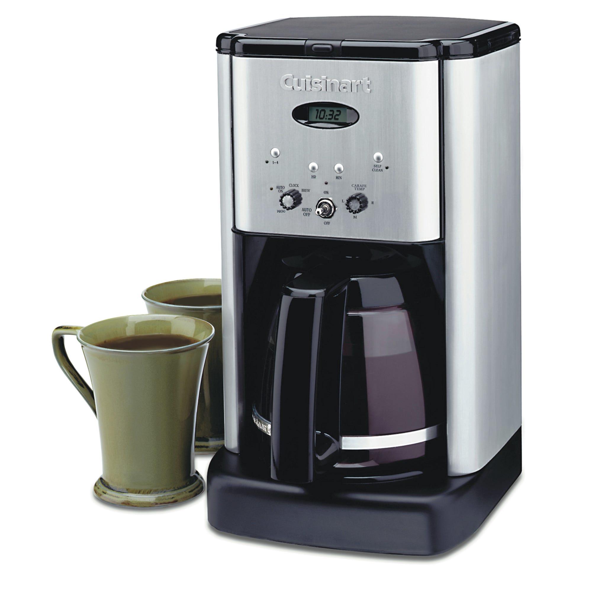 Cafetera programable Brew Central™ Cuisinart®, de acero inoxidable para 12 tazas