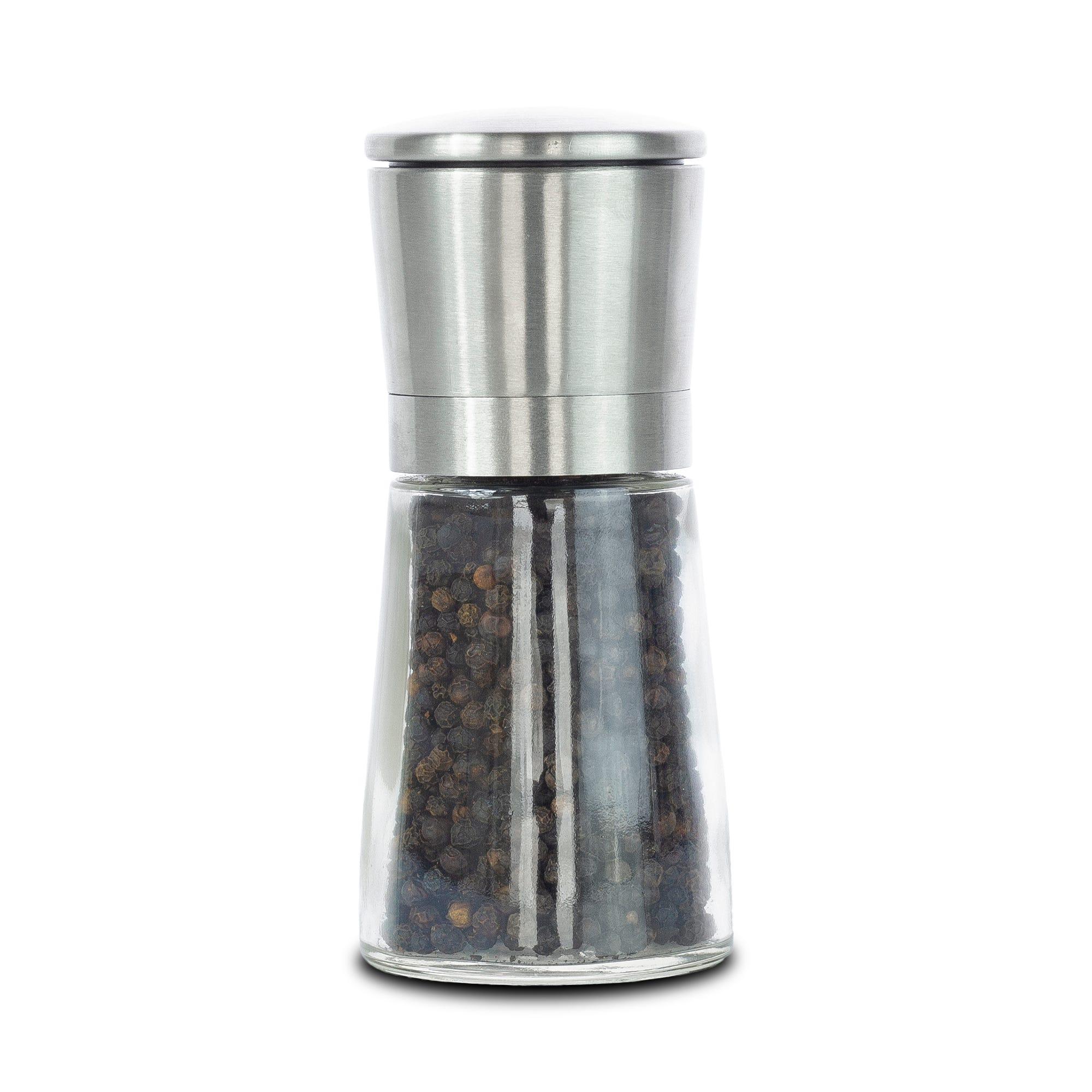 Pimentero de vidrio y acero inoxidable Olde Thompson Bavaria®