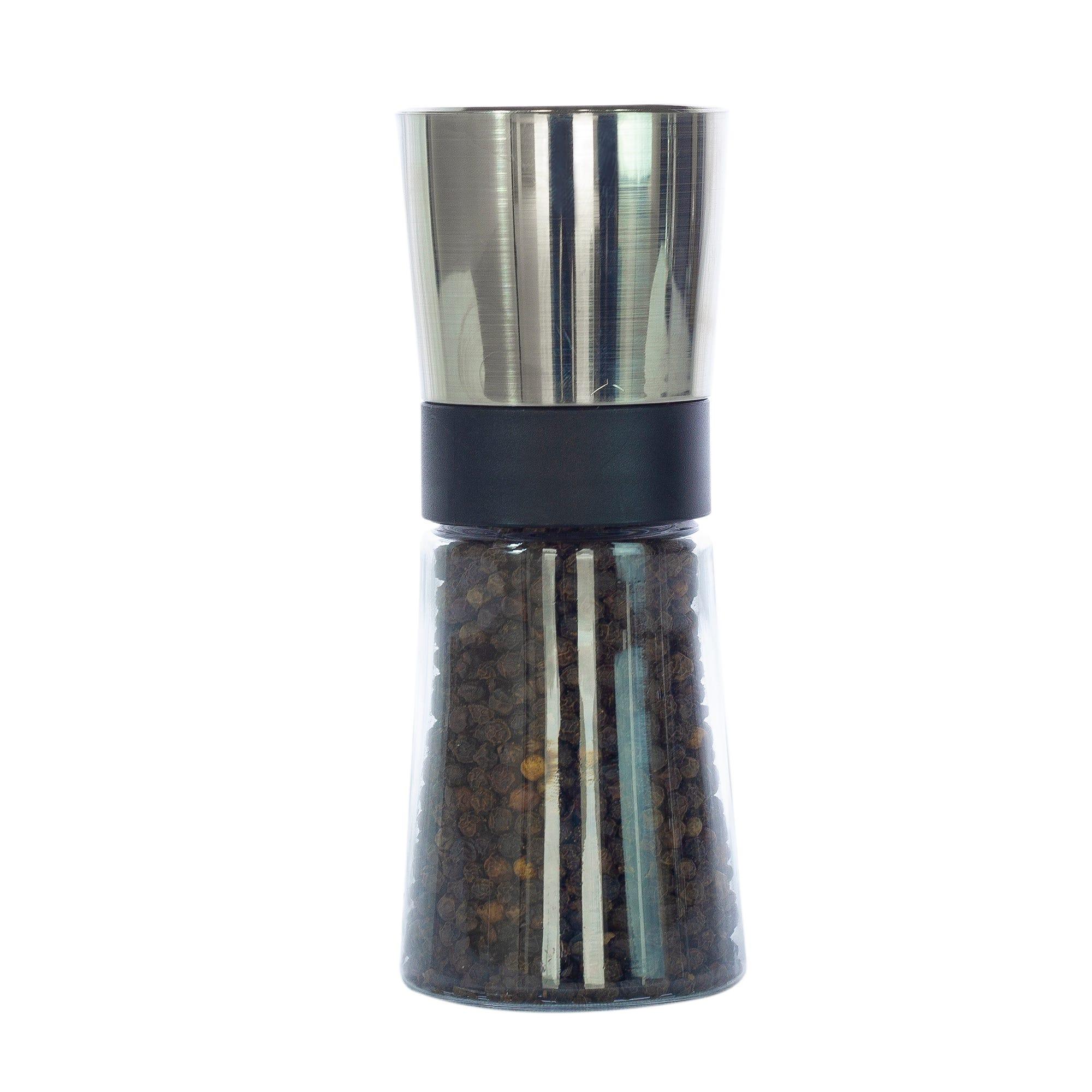 Molino para pimienta de acrílico y acero inoxidable Olde Thompson Saxony