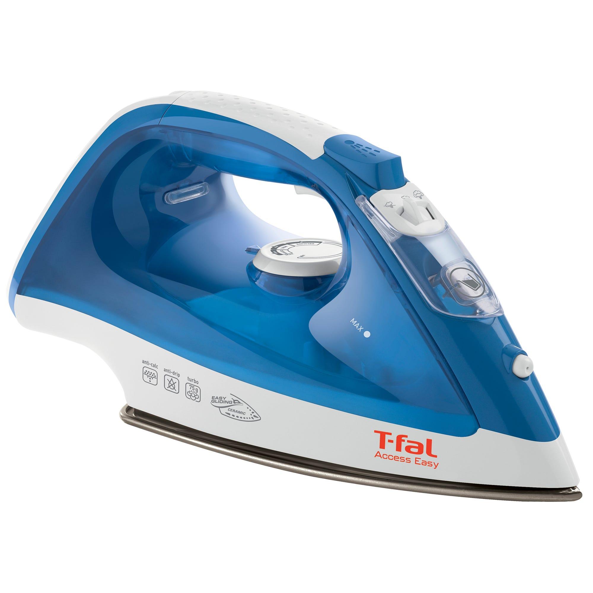 T-fal® Access Easy Plancha en azul