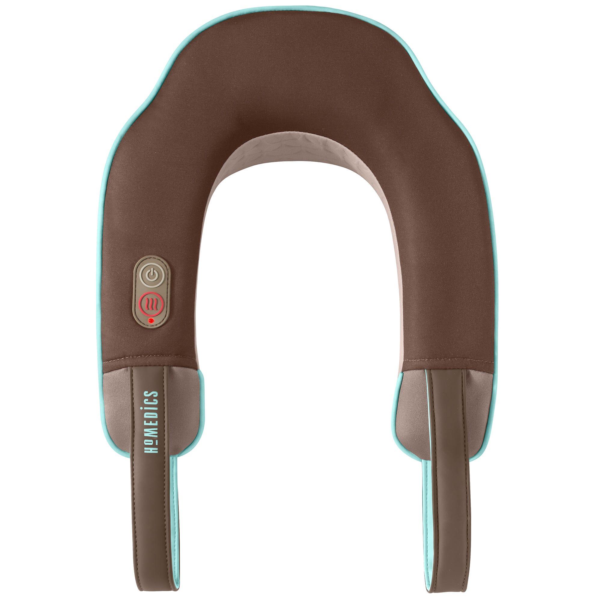 Masajeador para cuello HoMedics®, con vibración y calor en café