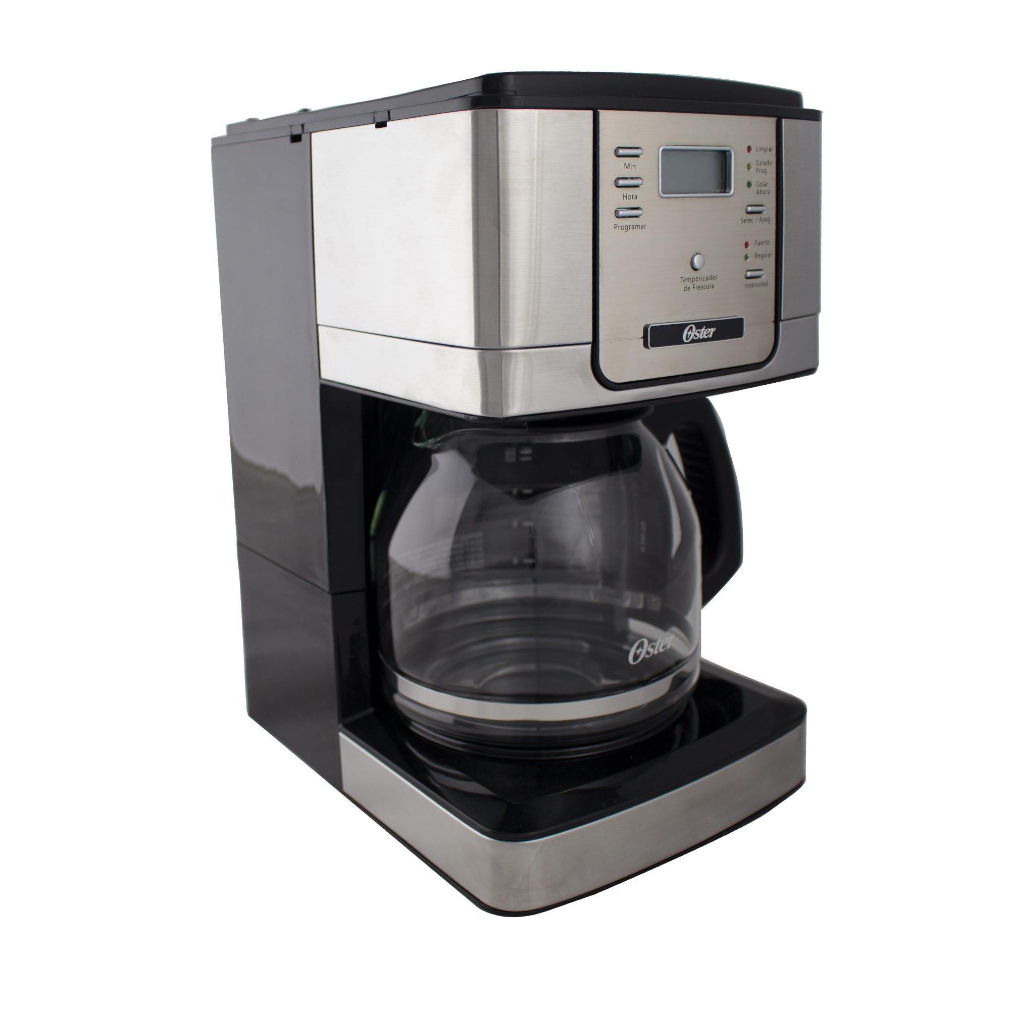 Cafetera programable Oster®, para 12 tazas