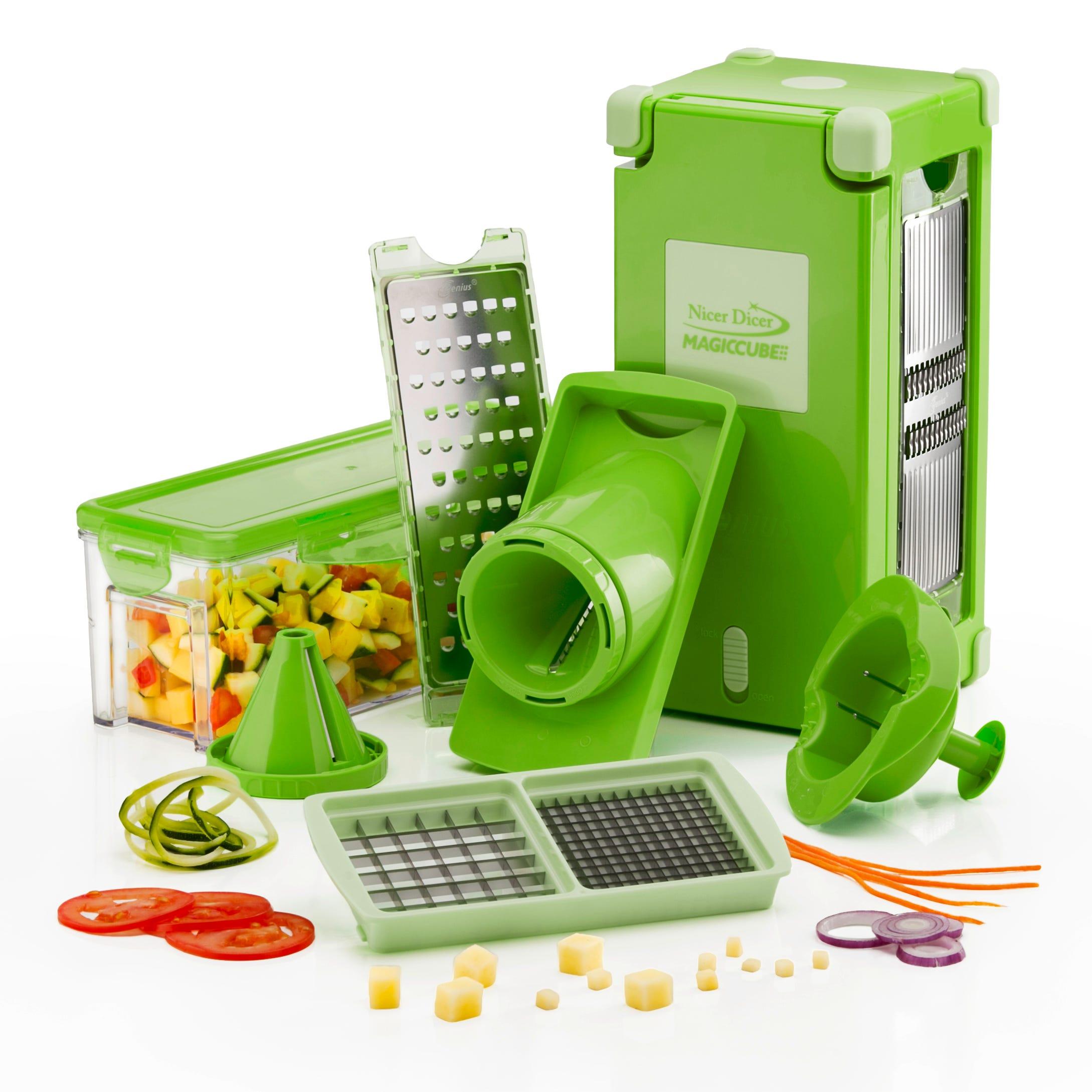 Cortador y rebanador de alimentos Nicer Dicer Magic Cube multiusos