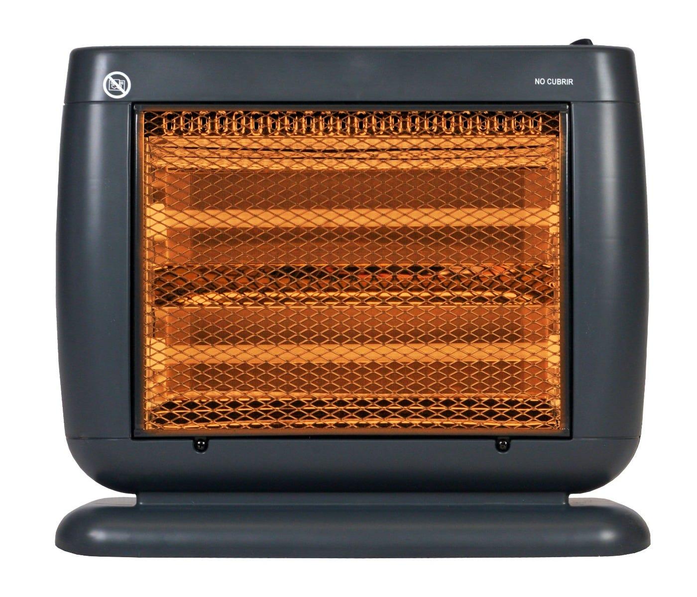 Calefactor de cuarzo Heat Wave® en negro