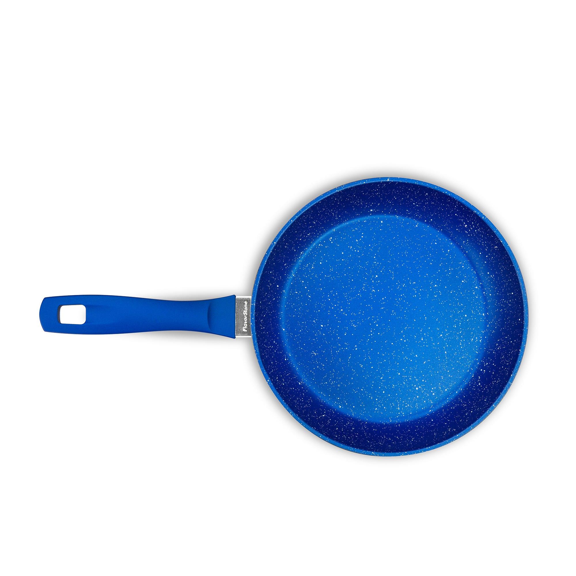 Sartén antiadherente para saltear Flavor Stone de 20 cm color azul