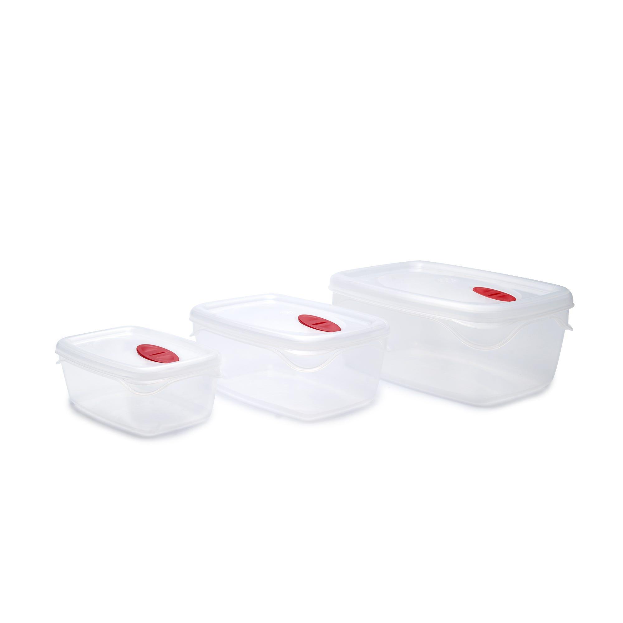 Set de contenedores rectangulares, Bama 6 piezas