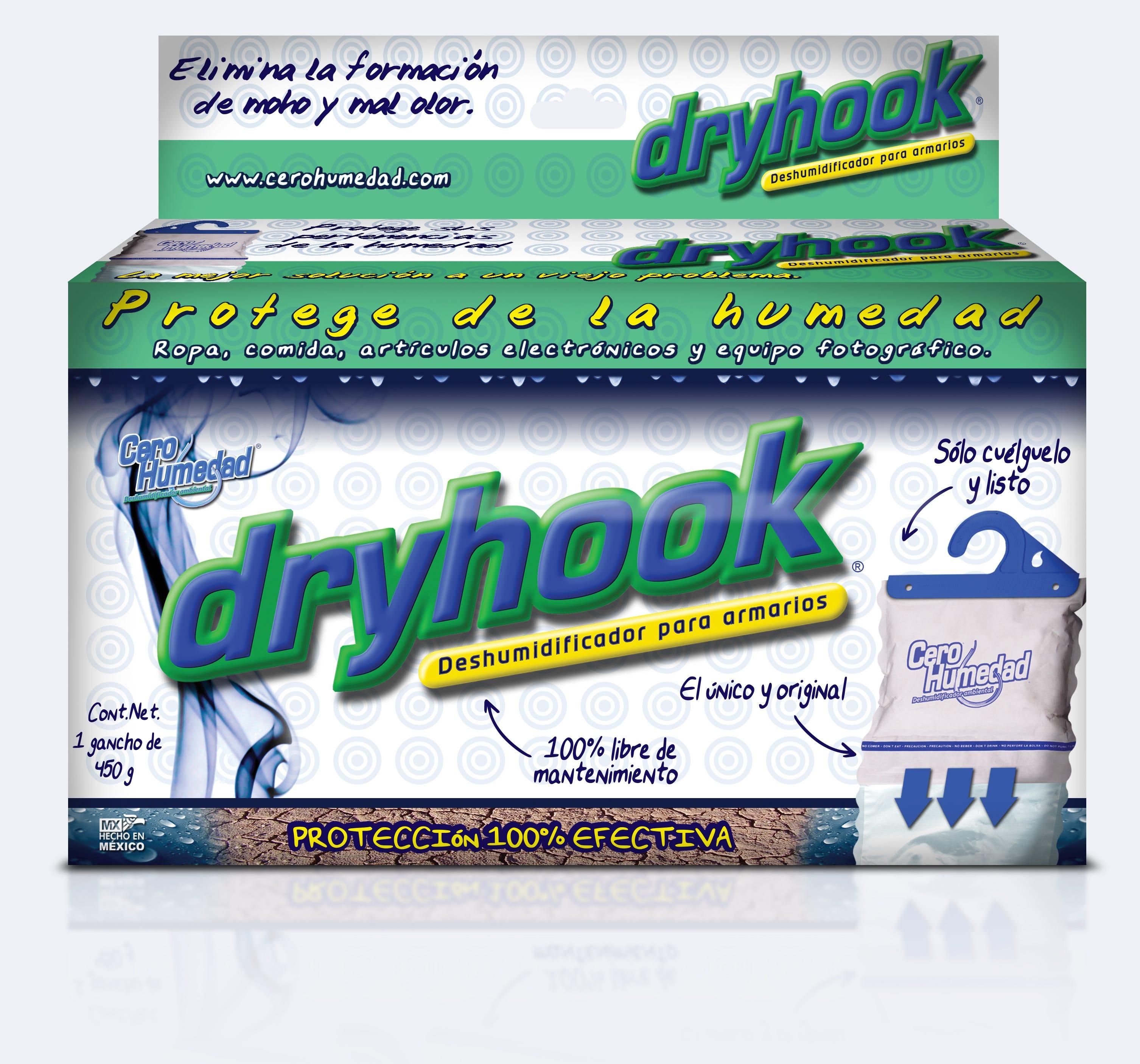 Deshumidificador Cero humedad Dryhook™, de 450 g