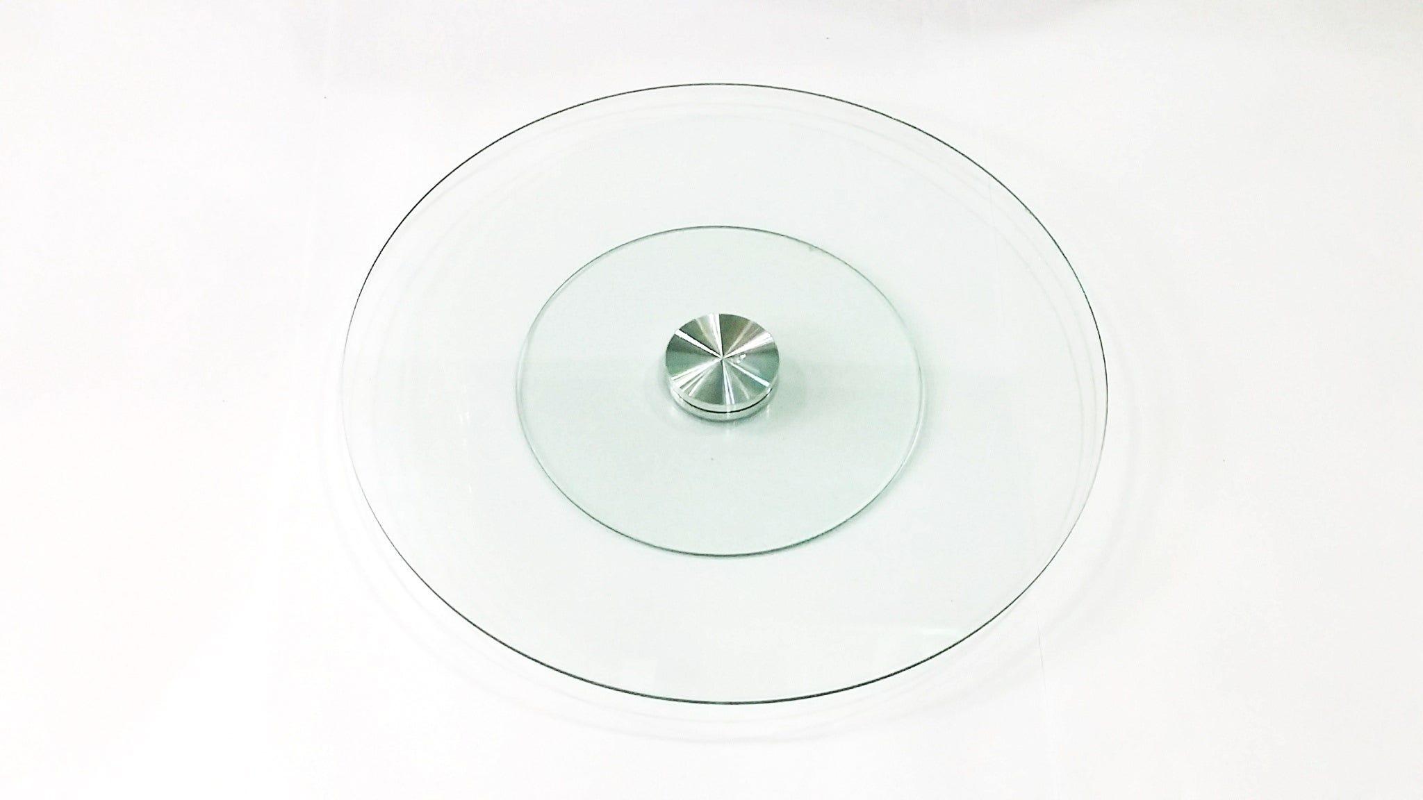 Base giratoria de vidrio Reimart de 39.87 cm