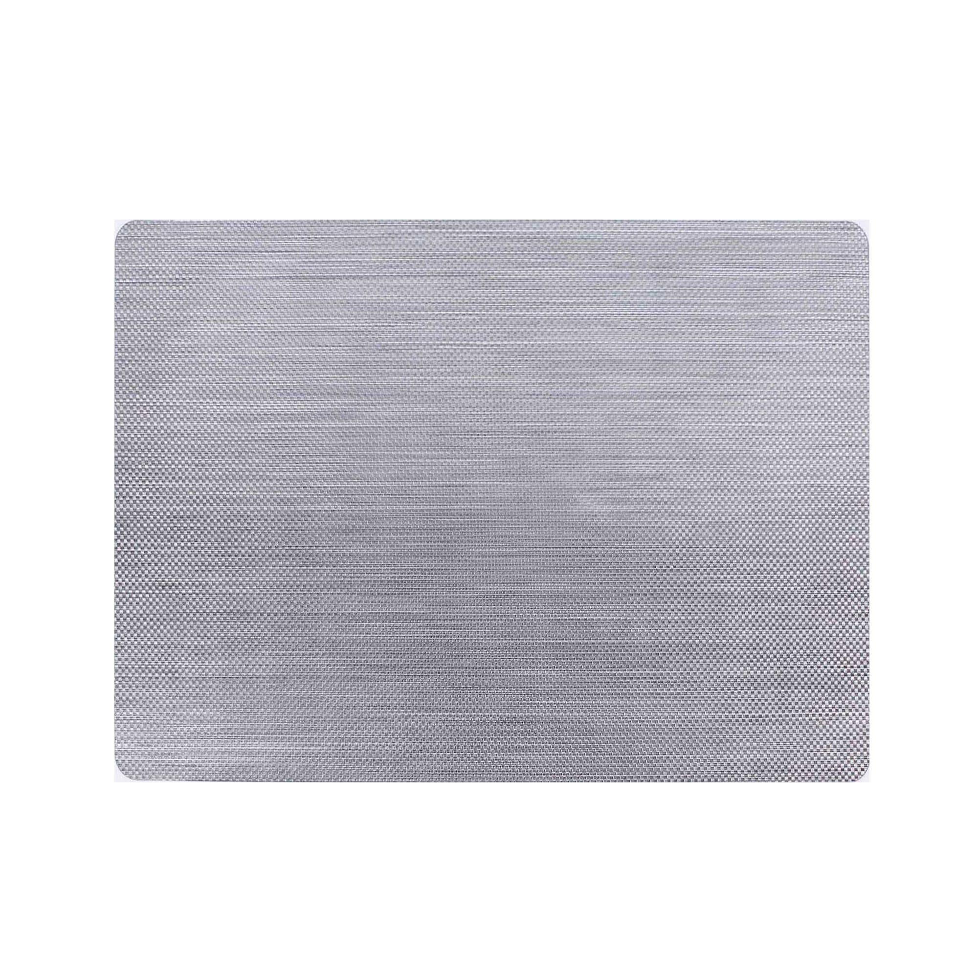 Mantel individual con cuadros chicos Namaro Design en plata
