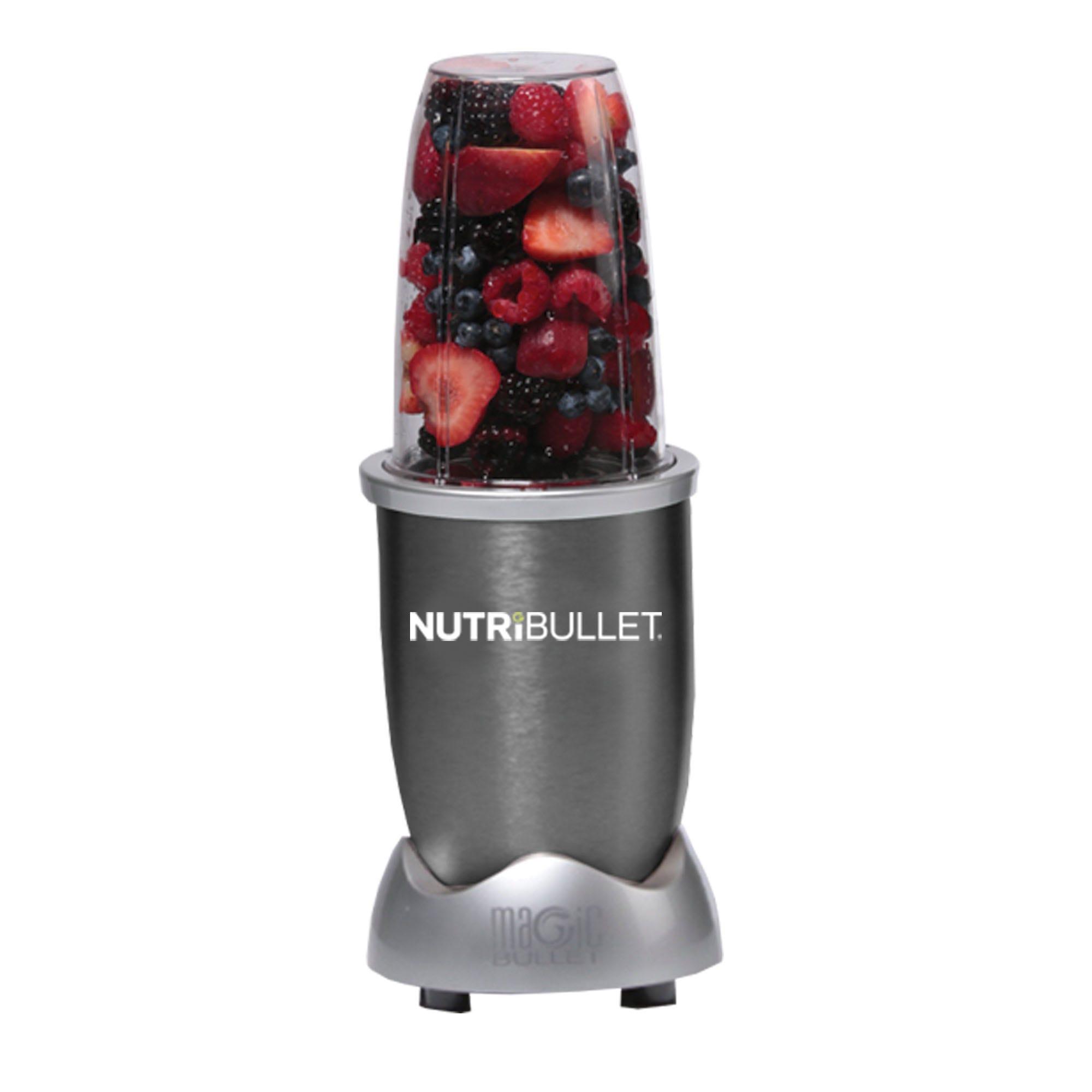Procesador de alimentos Nutribullet™ color gris, 8 accesorios