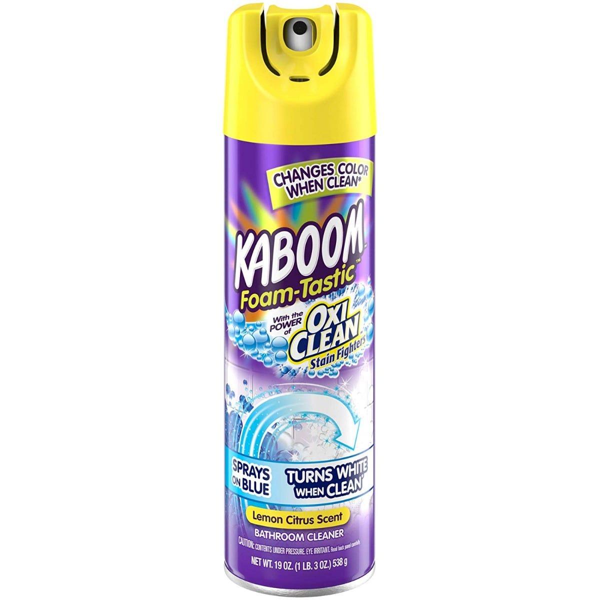 Kaboom Foam-Tastic Limpiador de baño