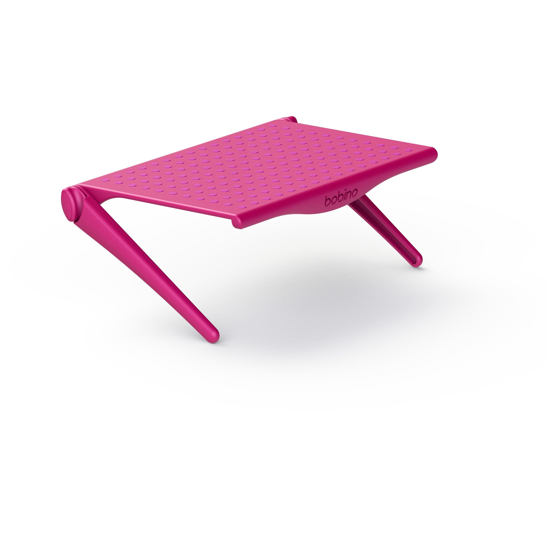Repisa organizadora para televisión y computadora Bobino® en rosa