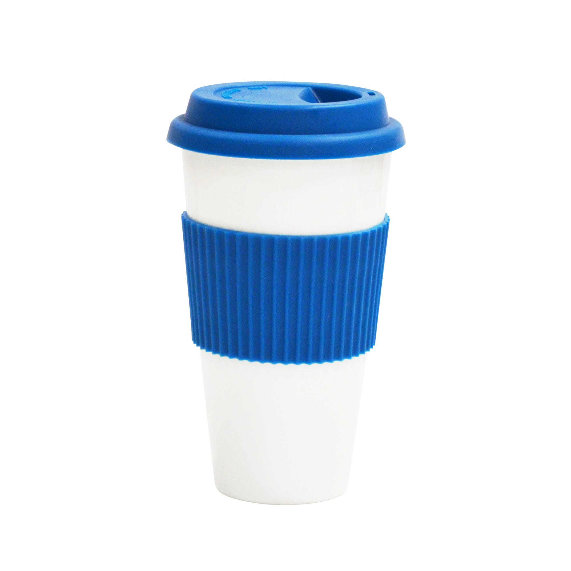 Termo de porcelana Grab&Go en azul