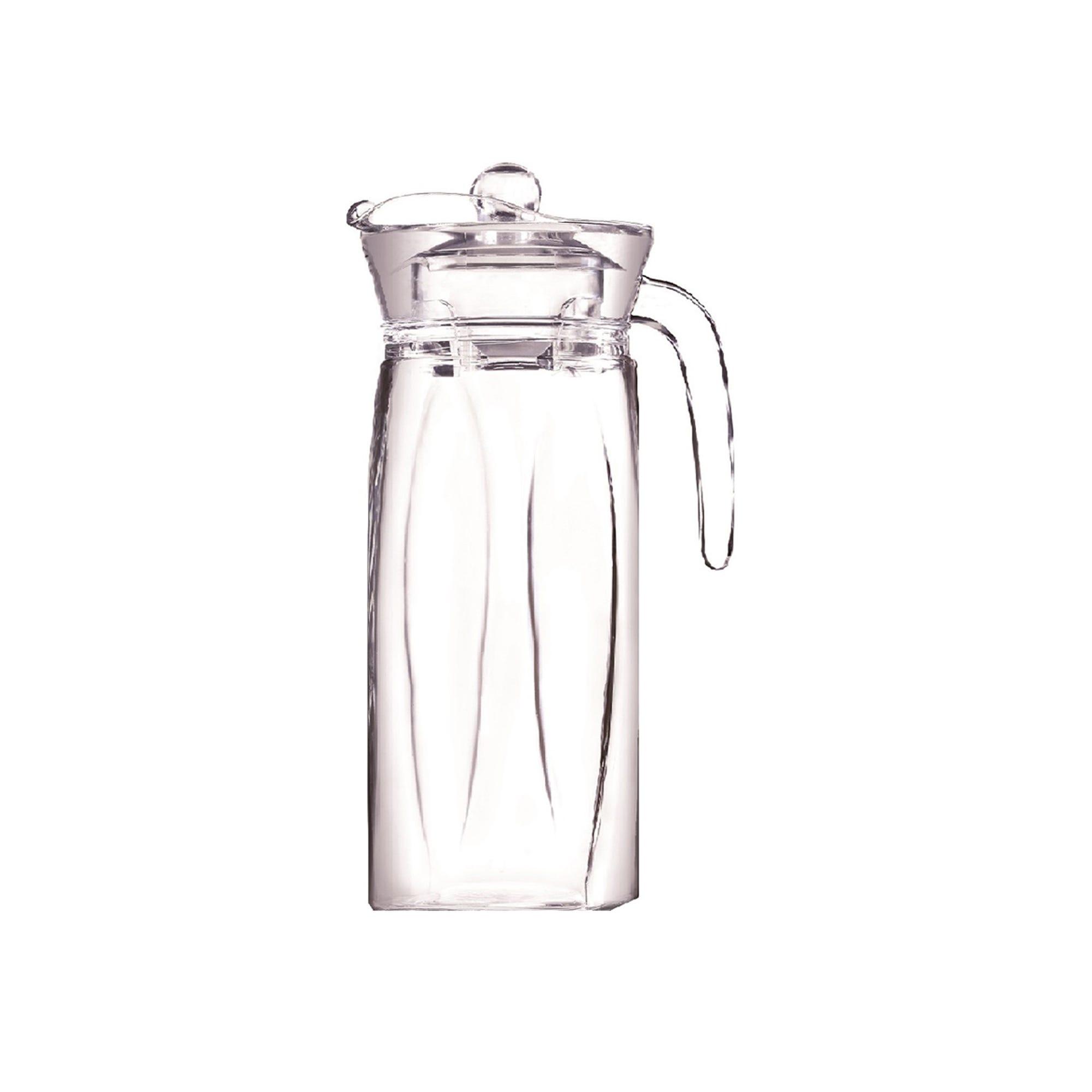 Flame Jarra de vidrio con tapa, 1.3 L