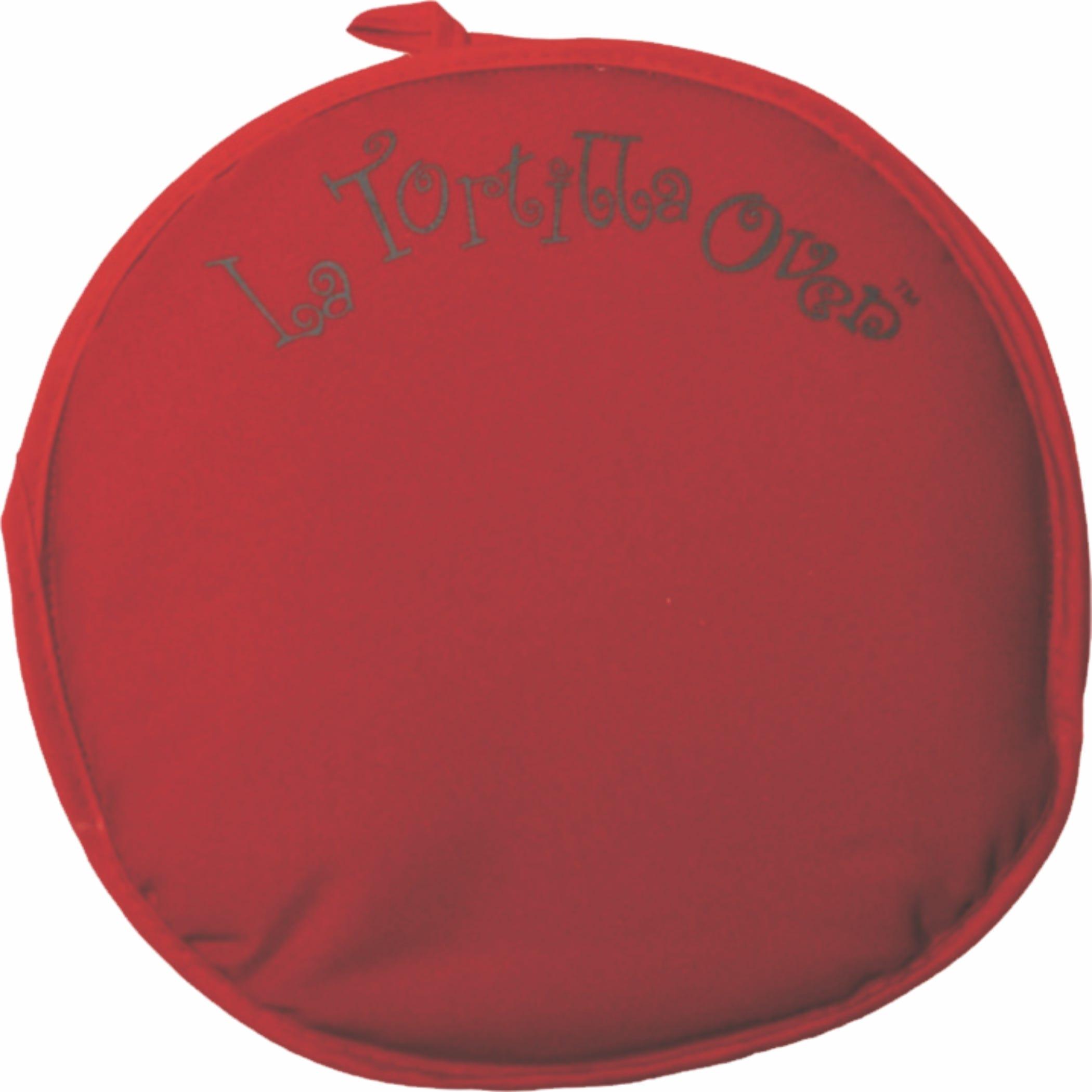 Tortillero de tela La Tortilla Oven en rojo
