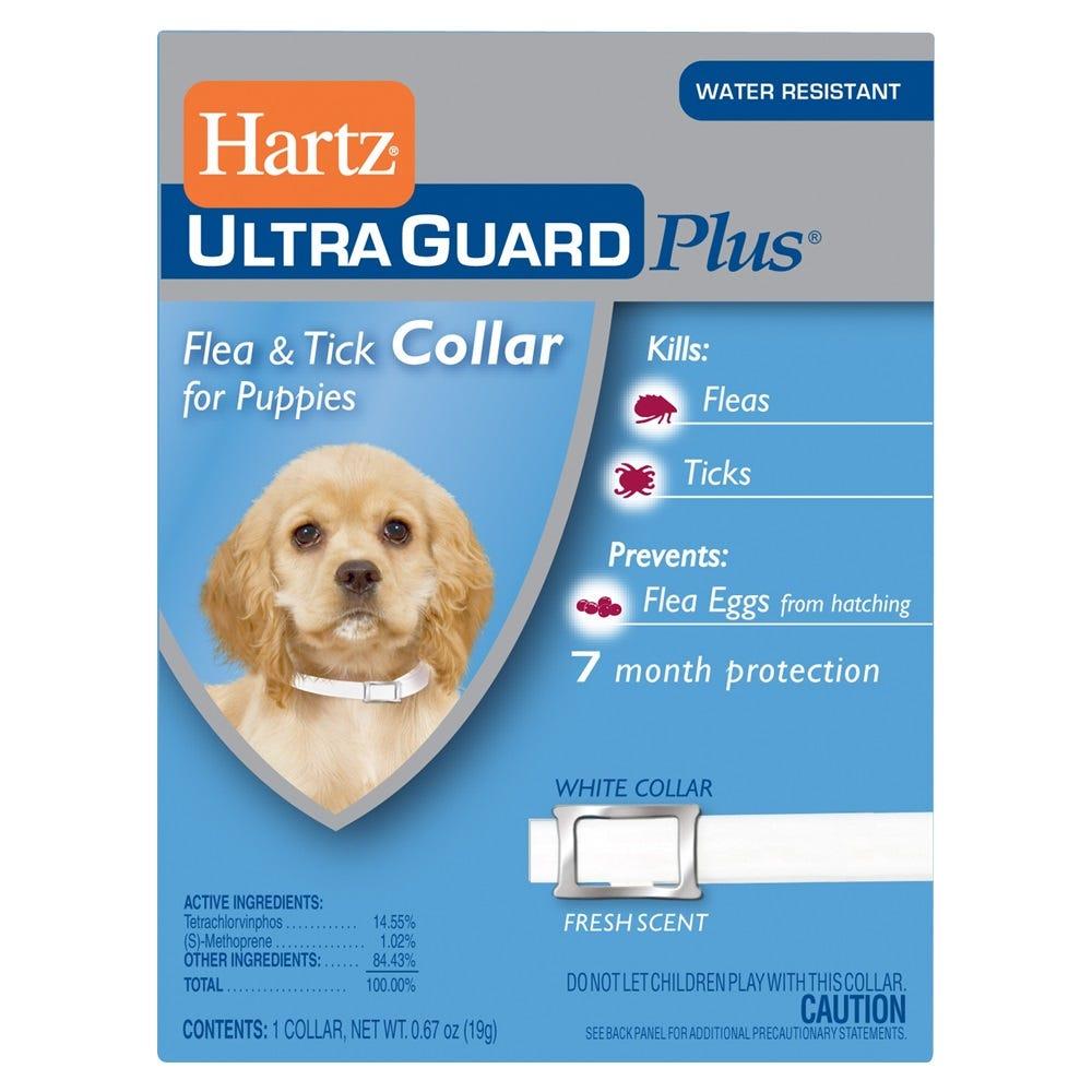 Collar antipulgas plus Hartz® UltraGuard Plus ™, 3 en 1 para cachorros
