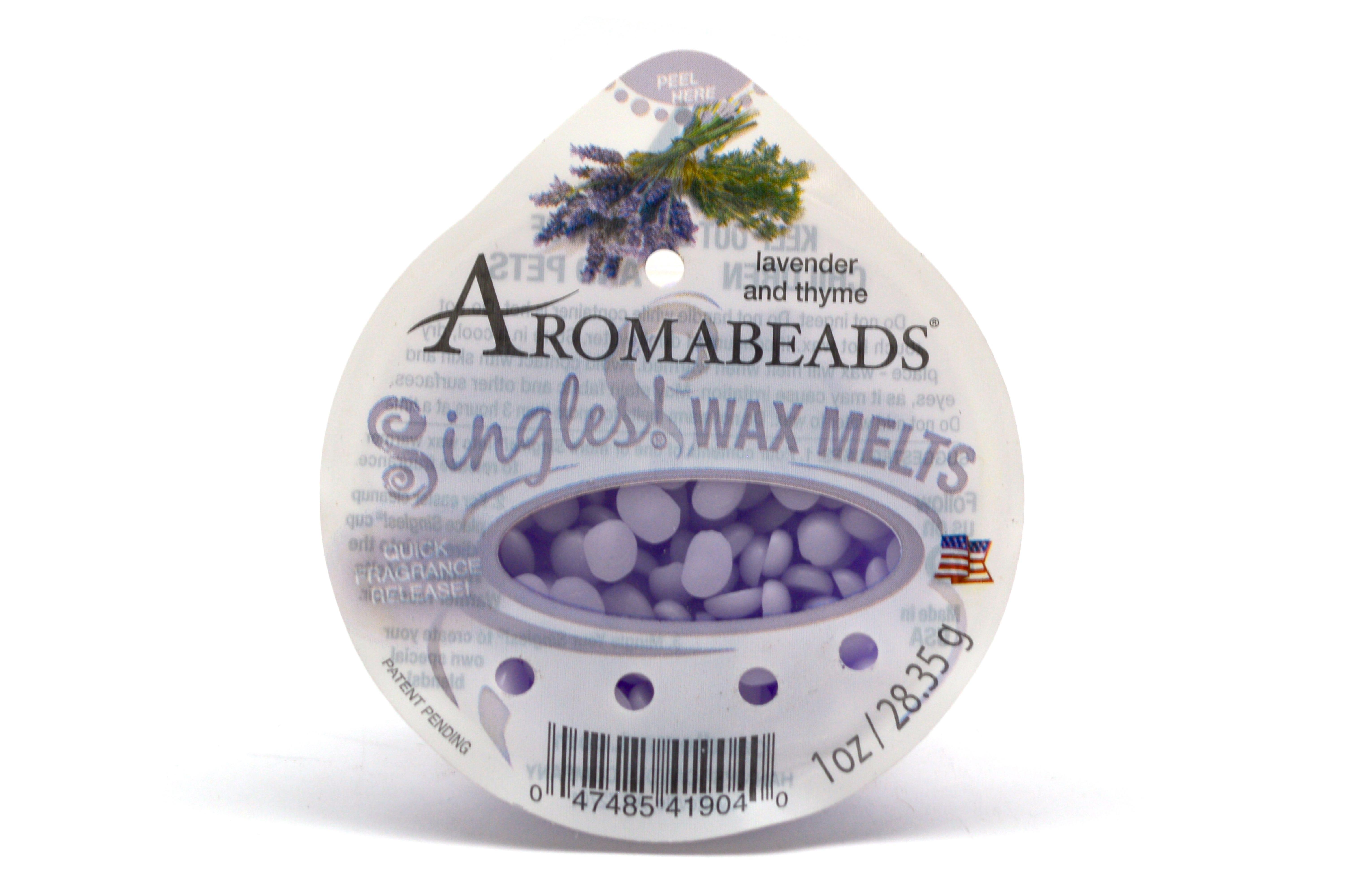 Pastillas aromáticas Aromabeads® aroma lavanda y tomillo, 28.35 g
