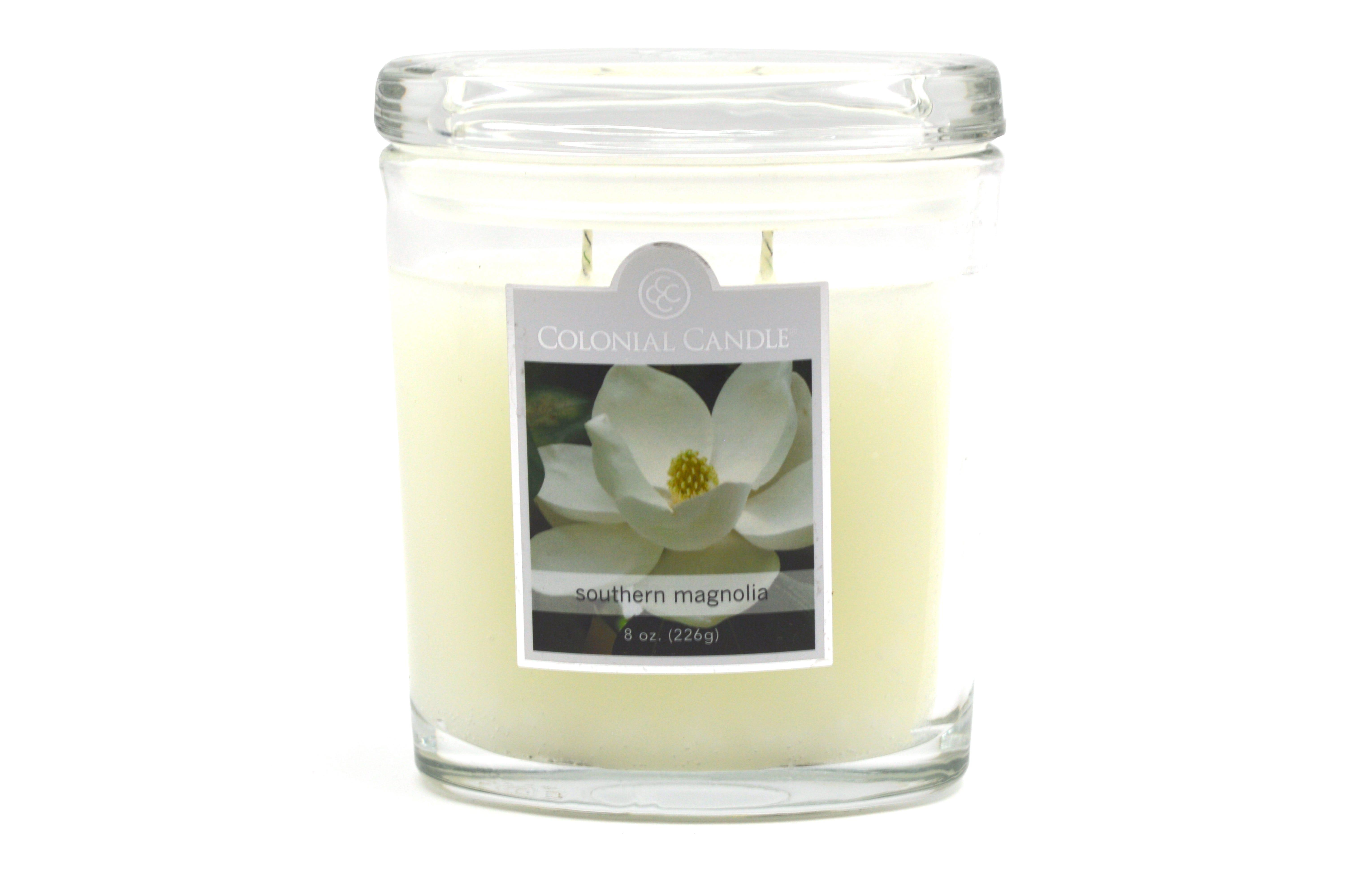 Vela en vaso de 2 pabilos Colonial Candle®, Southern Magnolia™, 226 g