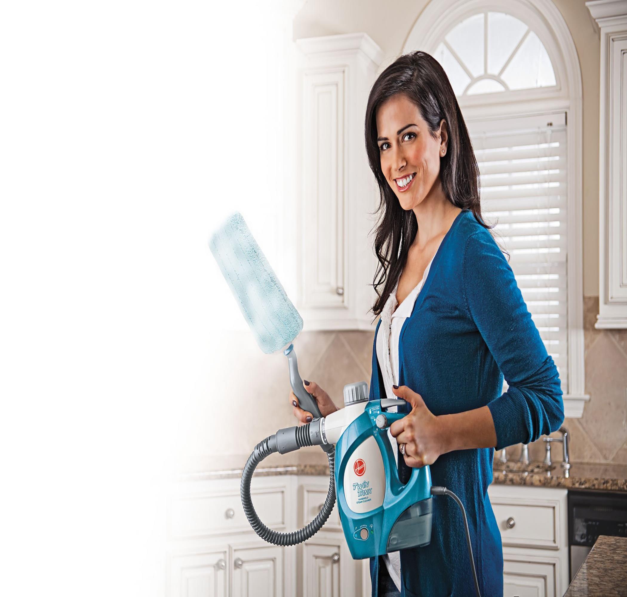Hoover® TwinTank Limpiador a vapor manual