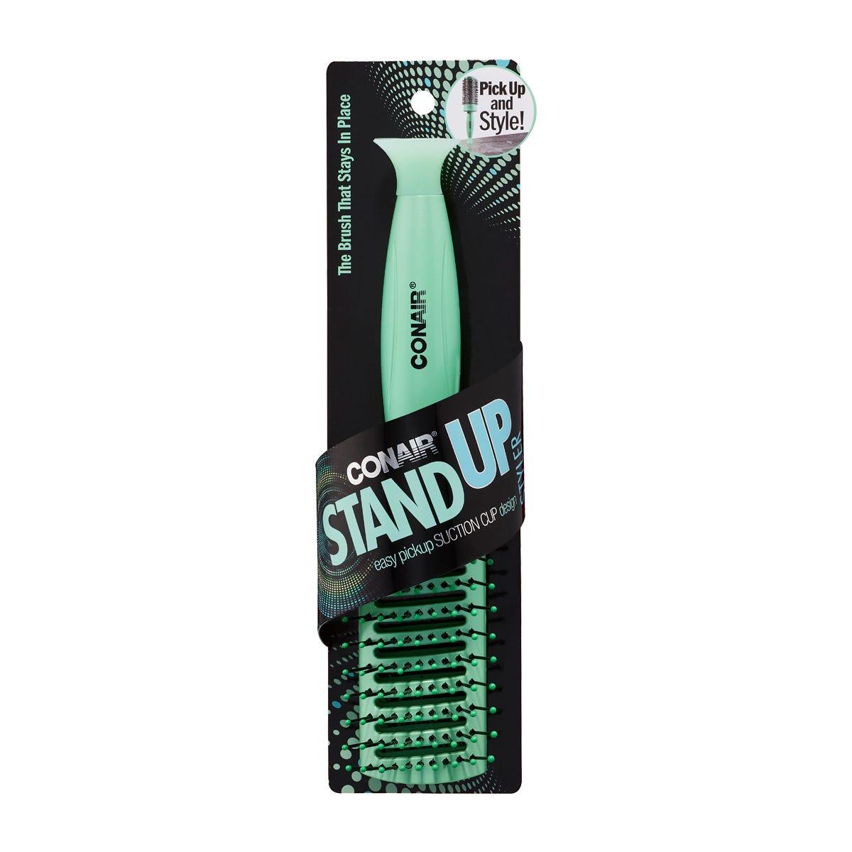 Cepillo todo uso STAND UP Conair® en verde agua