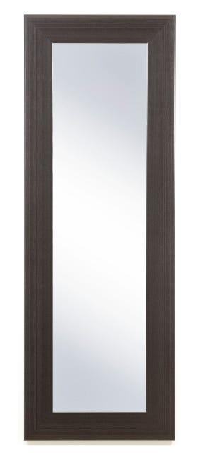 Espejo de cuerpo entero de 1.32 m x 48 cm en chocolate