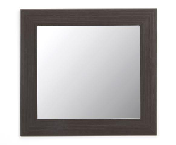 Espejo decorativo de 33.29 cm en chocolate