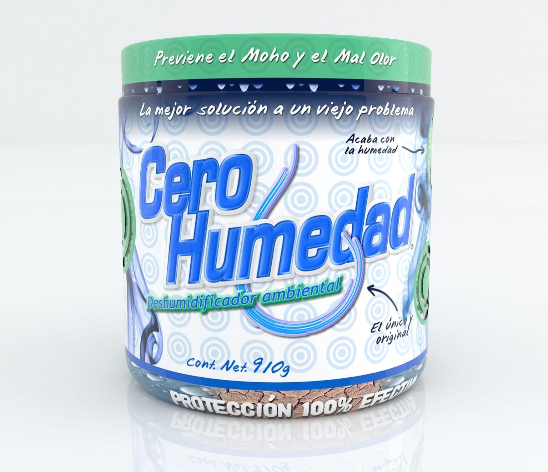 Absorbente de humedad Cero humedad™, ambiental de 910 g