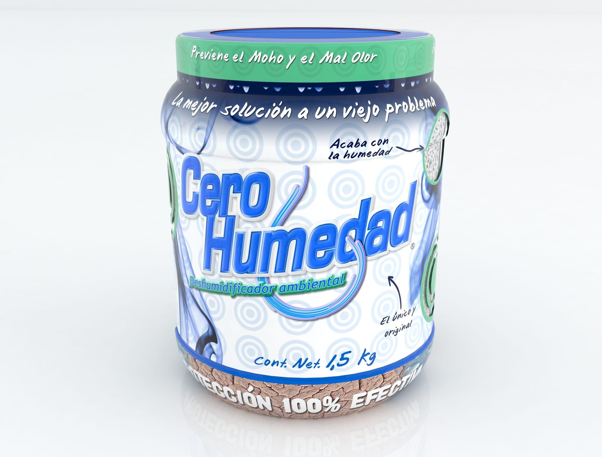 Absorbente de humedad Cero humedad™ ambiental de 1.5 kg
