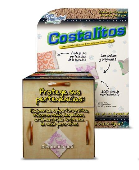 Costalitos absorbentes de humedad Cero humedad™ para cajones y bolsas