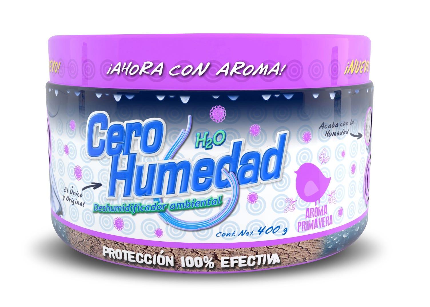 Absorbente de humedad Cero Humedad® ambiental aroma primavera, 400 g