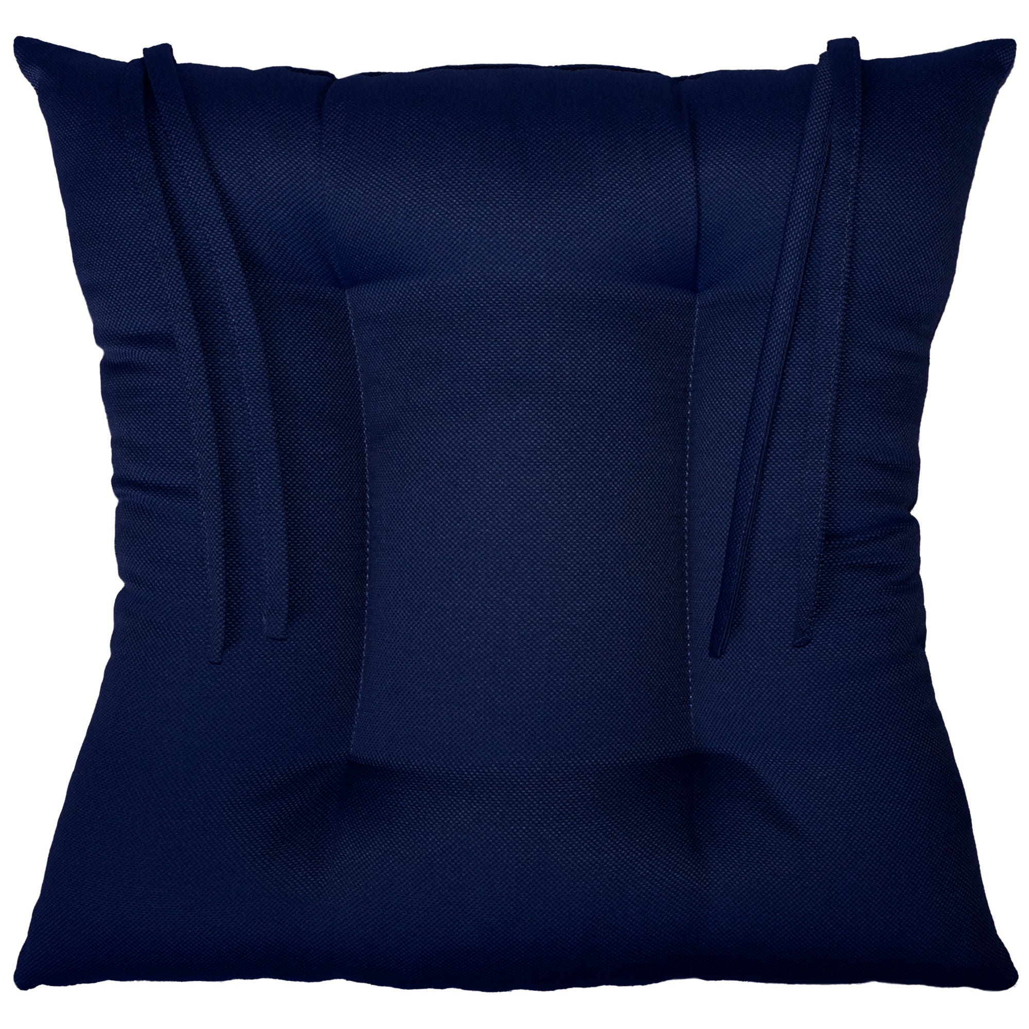 Cojín para silla color azul