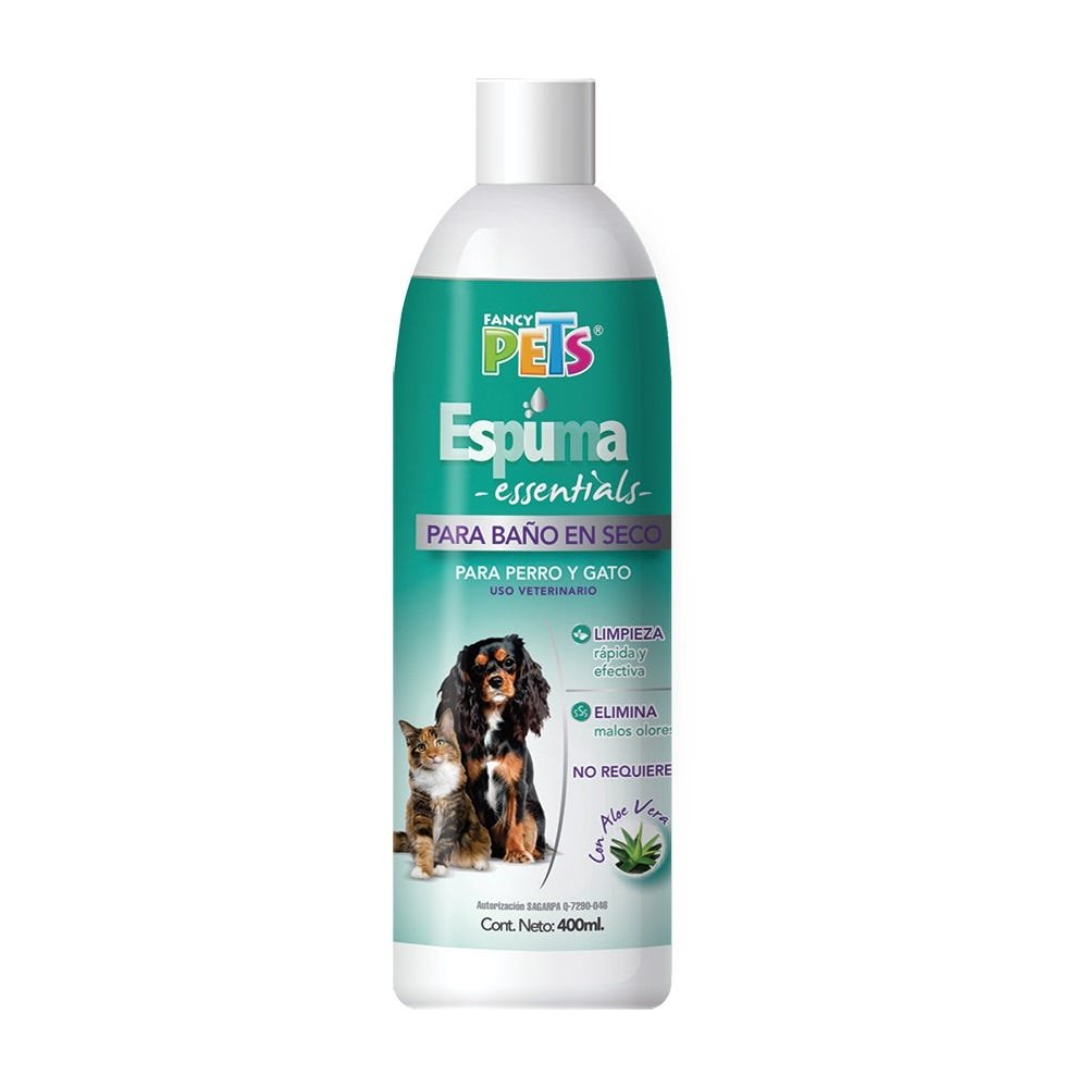 Shampoo para baño en seco Fancy Pets®, 300 g