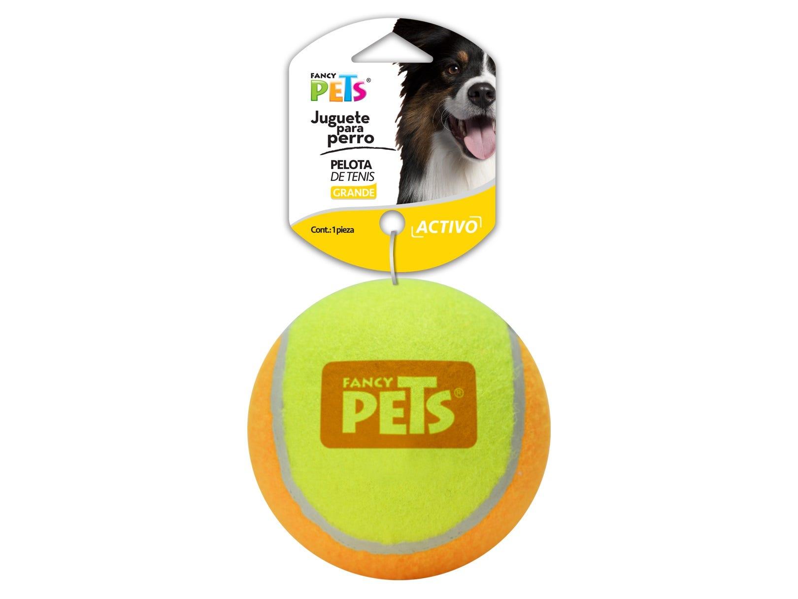 Pelota de tenis bicolor Fancy Pets® para perro