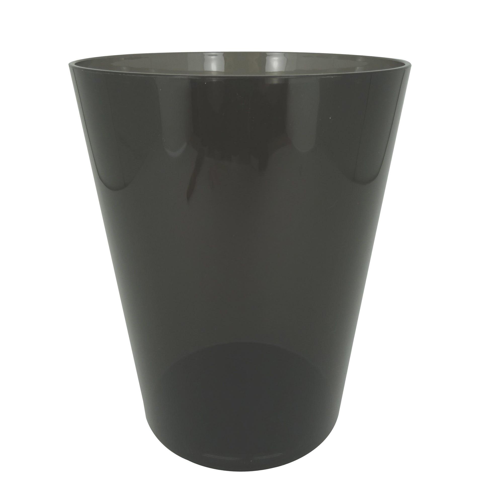 Bote de basura Namaro Design™, en gris humo
