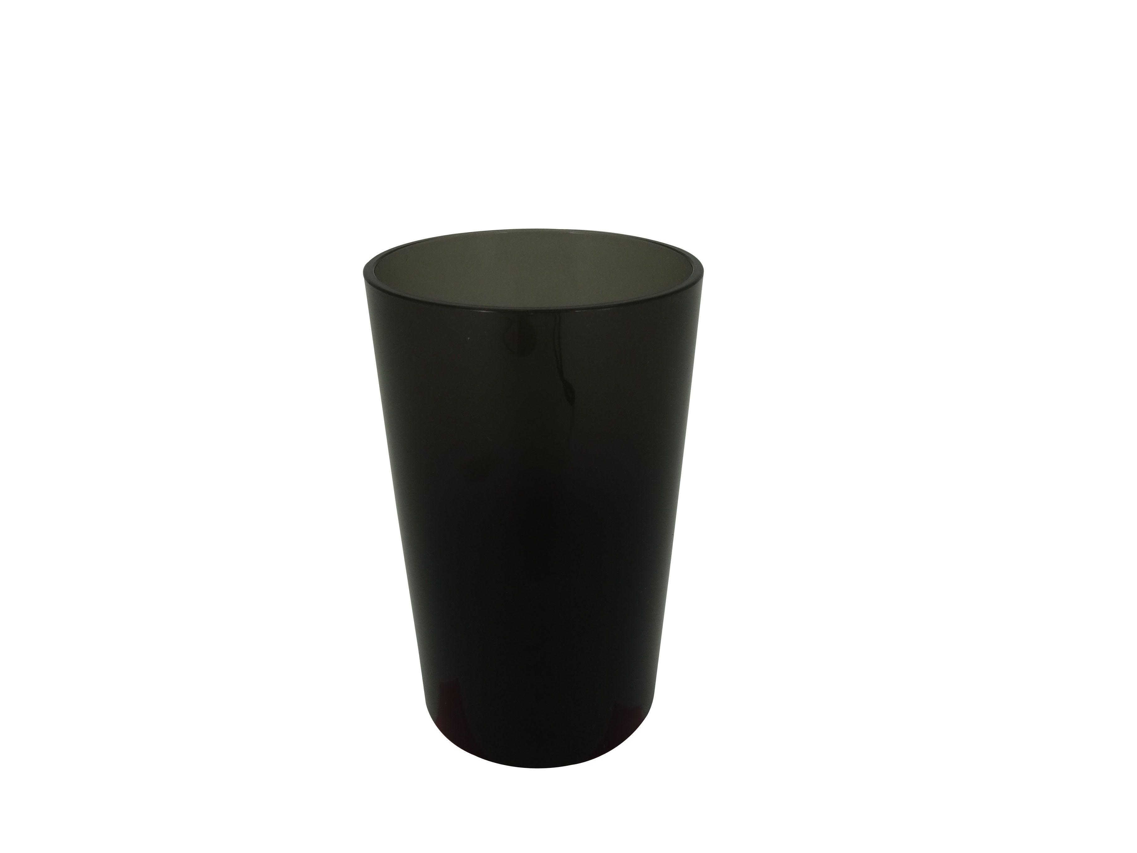 Vaso de acrílico de acrílico Namaro Design® color gris humo