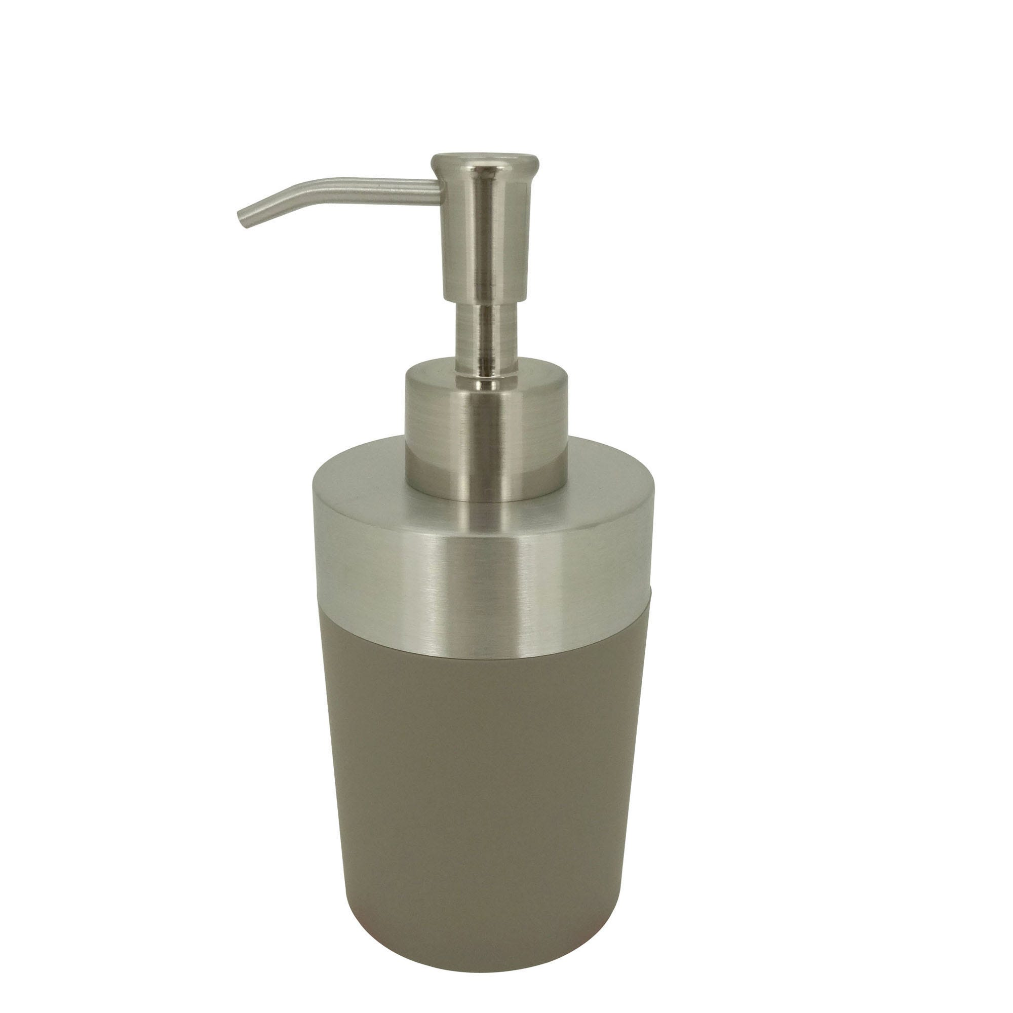 Dispensador de jabón Namaro Design™, en gris
