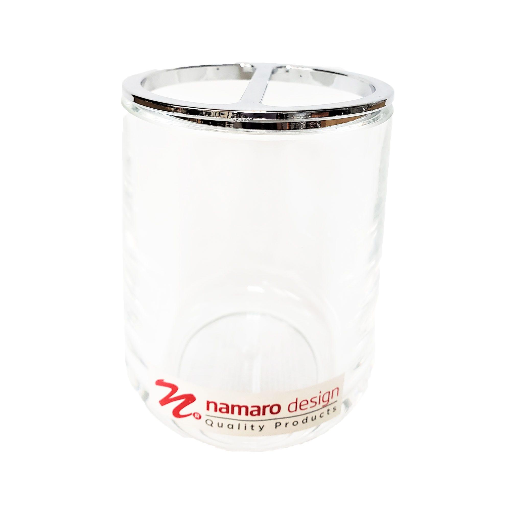 Portacepillos de dientes Fashion Namaro Design transparente
