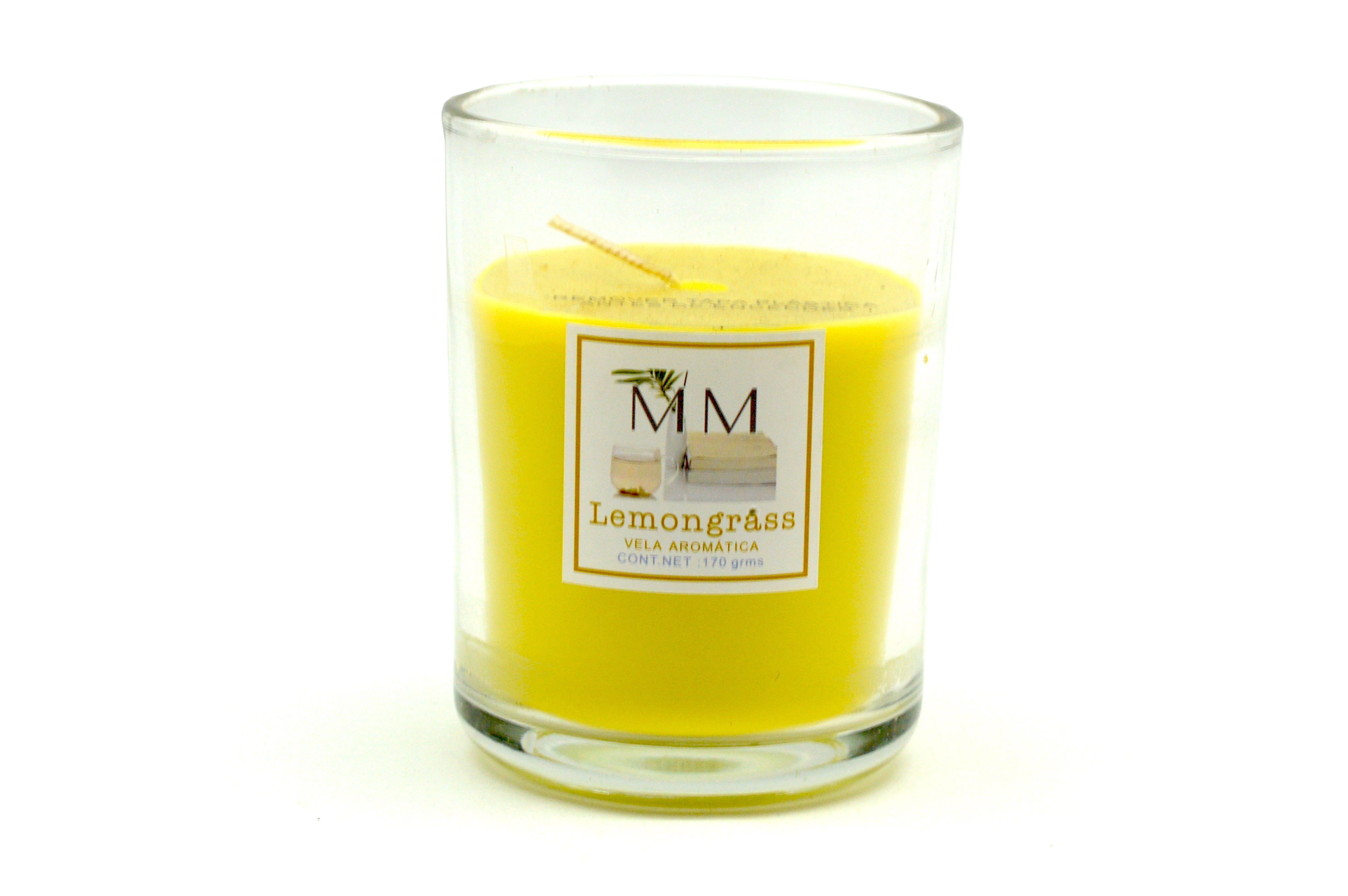 Vela en vaso MM Lemongrass™, 170 g