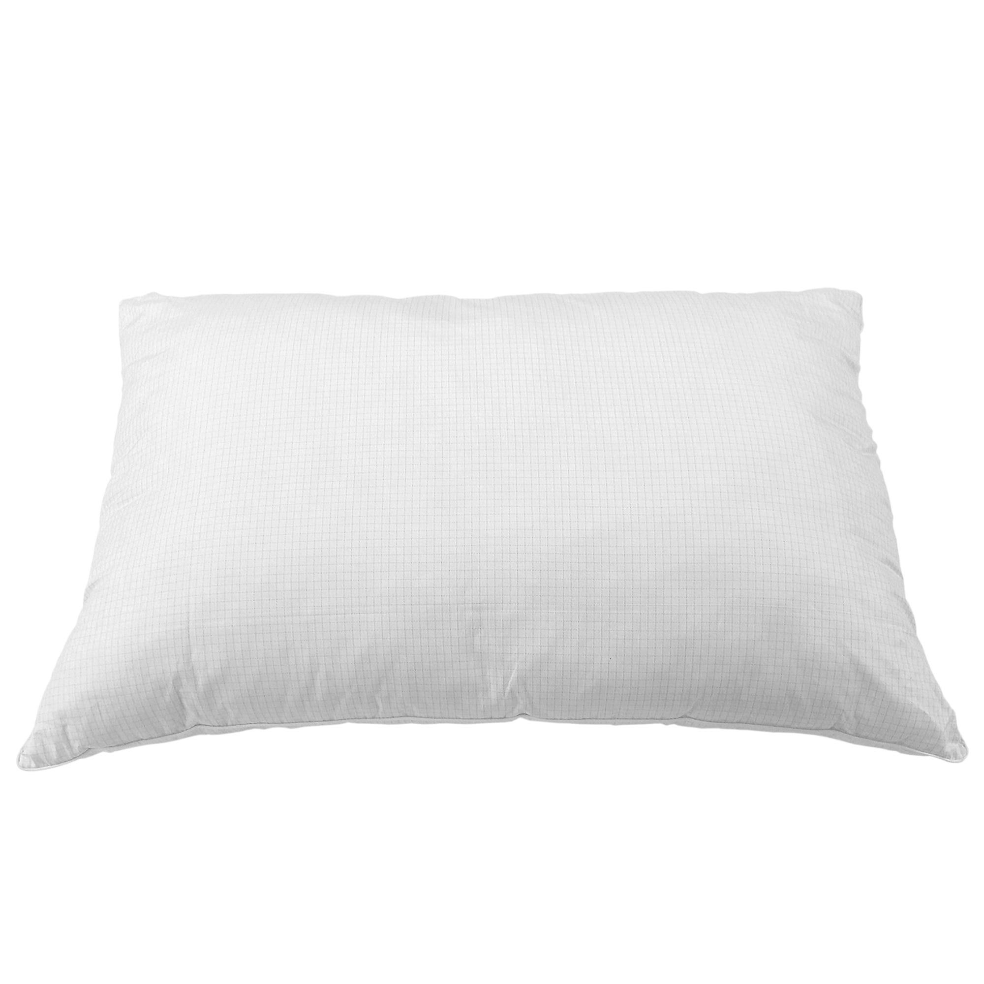 Almohada estándar de poliéster Spring Air® color plata