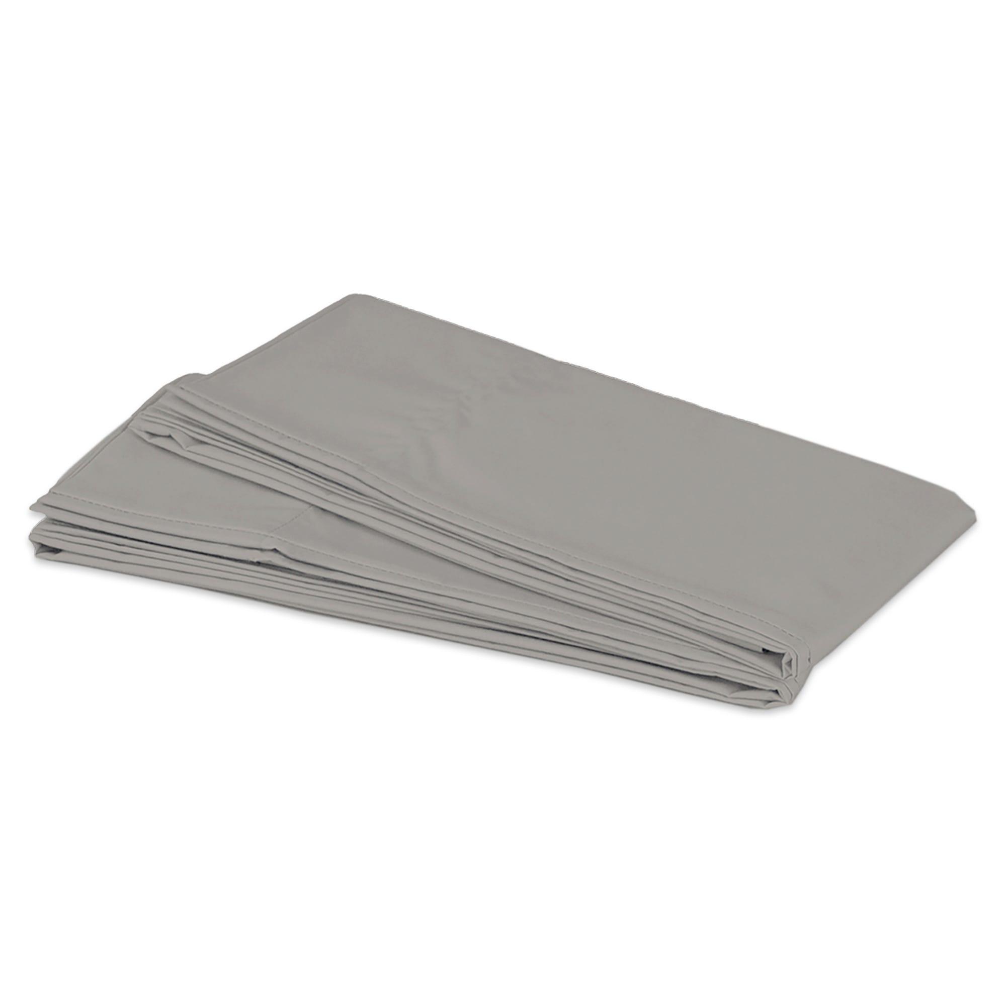Fundas estándar de microfibra para almohadas Spring Air® color gris claro, Set de 2 piezas
