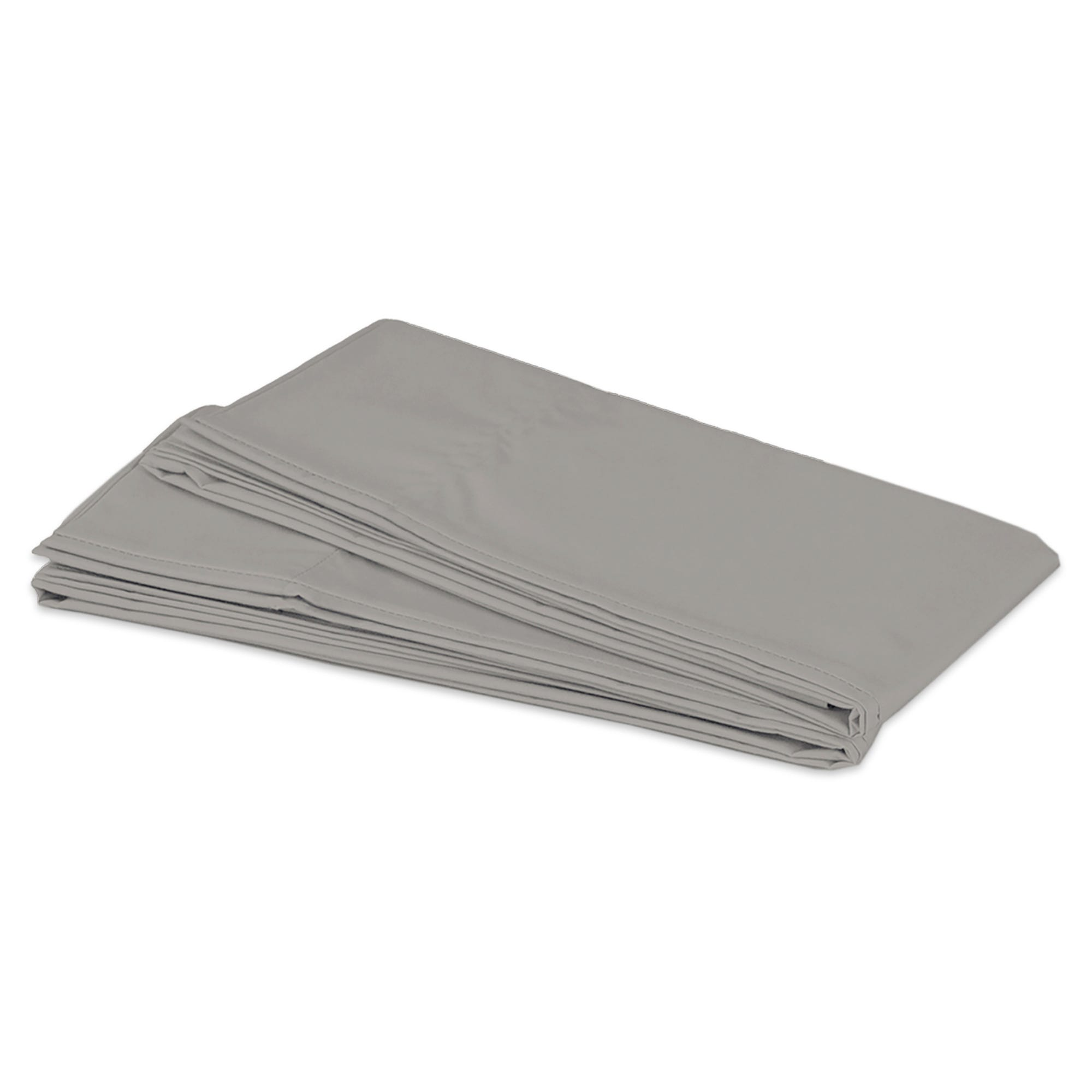 Fundas king de microfibra para almohadas Spring Air® color gris claro, Set de 2 piezas