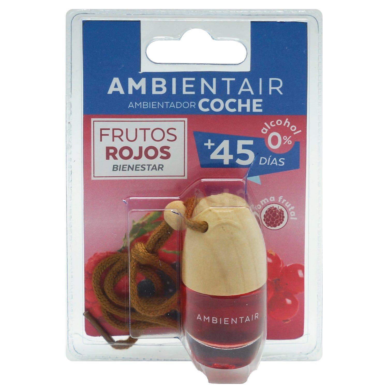 Ambientador para coche Ambientair aroma frutos rojos, 6 mL
