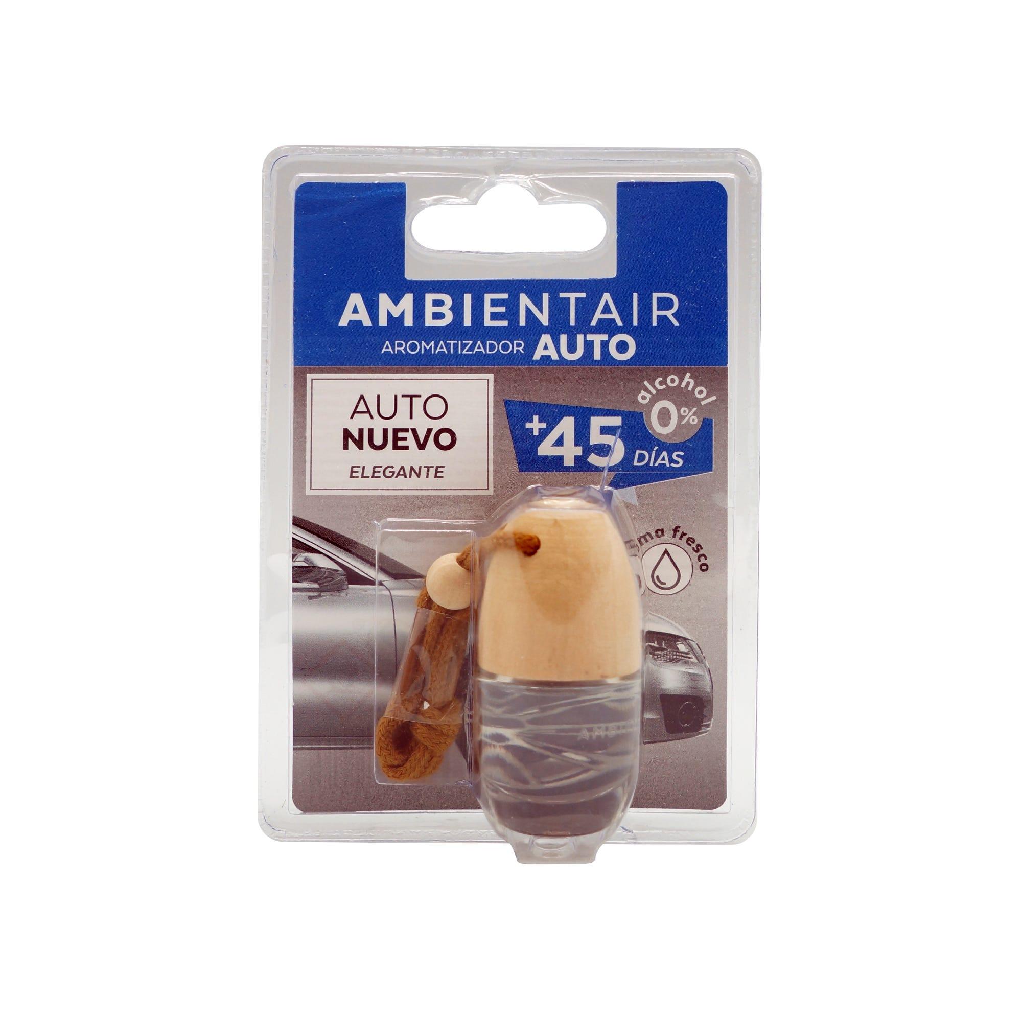 Ambientador para coche Ambientair aroma limpio, 6 mL