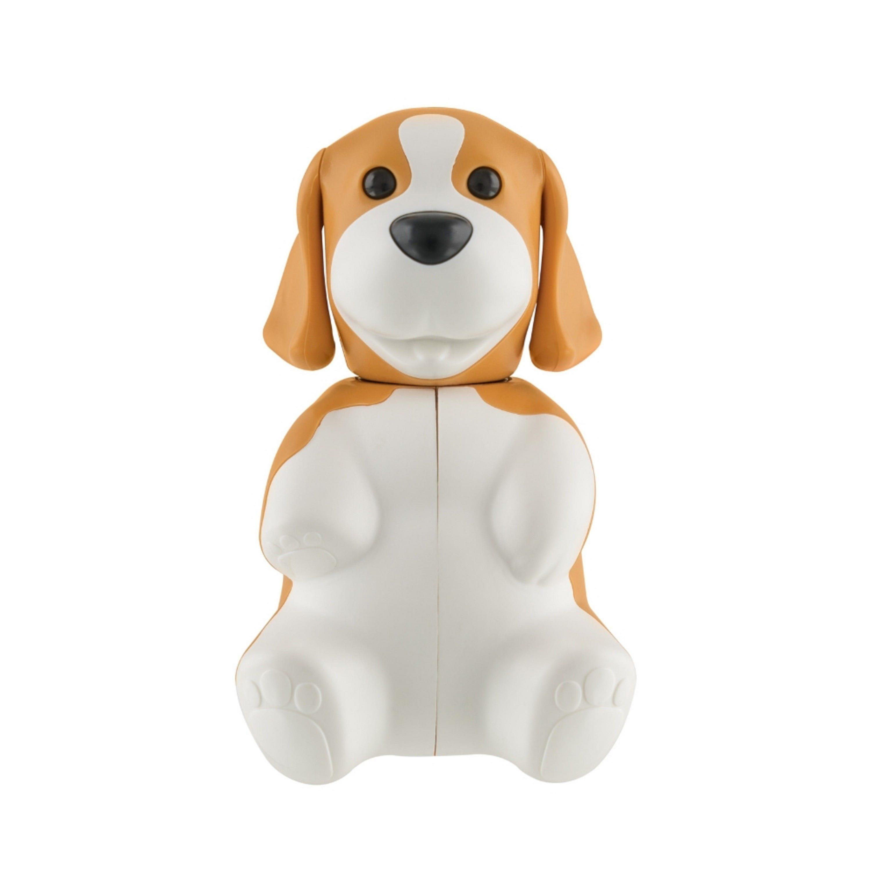 Portacepillos de dientes de plástico Flipper® con diseño de perrito