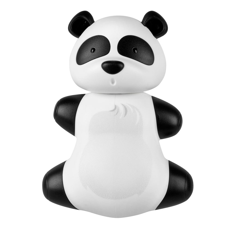Portacepillos de dientes de plástico Flipper® con diseño de panda