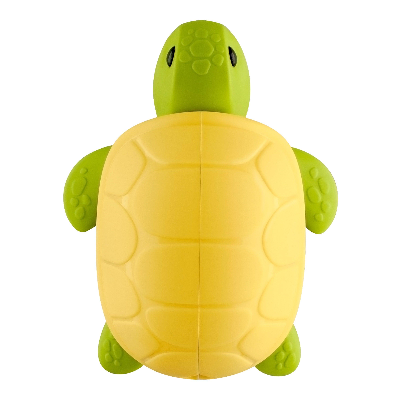 Portacepillo de dientes de plástico Flipper® con diseño de tortuga
